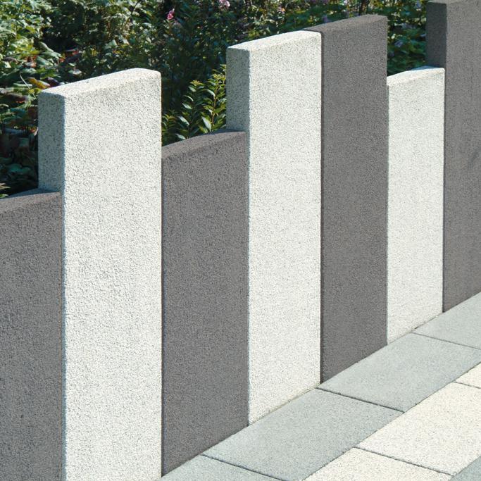 Stelen manufaktur hang randbefestigungen produkte klostermann beton wir leben - Gartenmauer fertigteile ...
